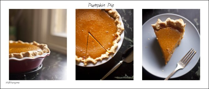 Delicious Pumpkin Pie this October.